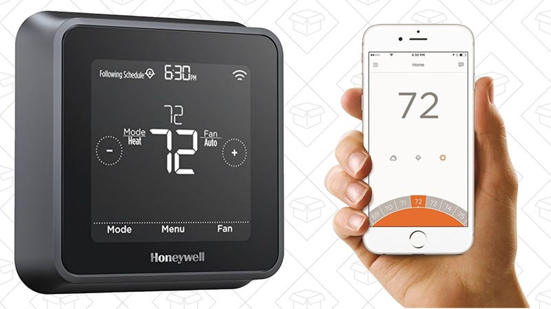 Upgrade To An Alexa And Siri Compatible Thermostat For 107