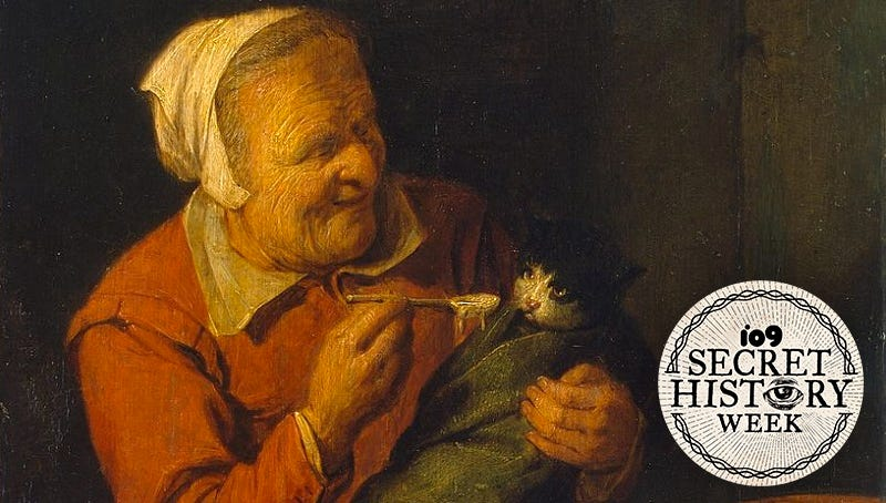 Illustration for article titled The Long and Glorious History of Cat Ladies