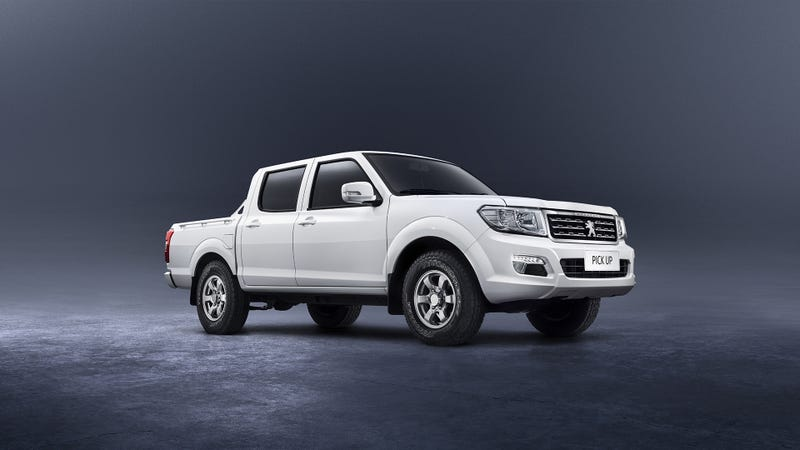 Peugeot Pick Up Pictured. Photo Credit: Peugeot