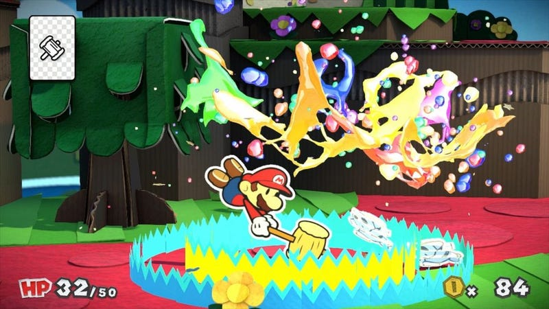 Illustration for article titled New Paper Mario Game Releasing On Wii U In 2016
