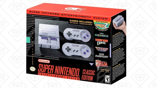 b4c17e58f1e739 Amazon Has SNES Classics In Stock