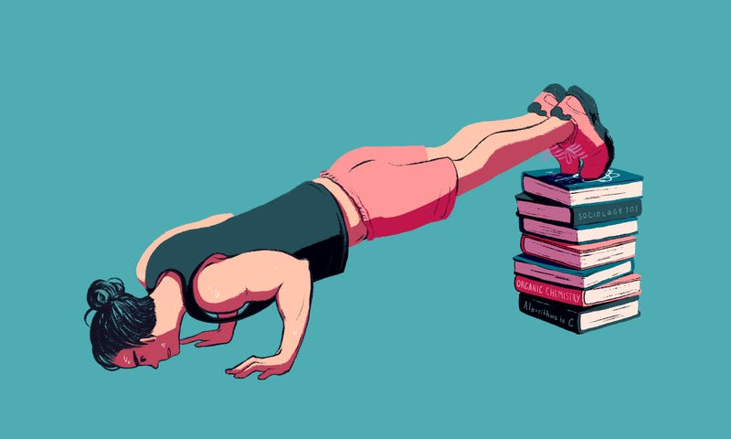 Illustration for article titled The Best Exercise Equipment for Your Dorm Room