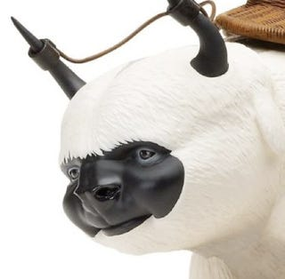 Illustration for article titled Stare Into The Face Of Live-Action Airbender's Appa