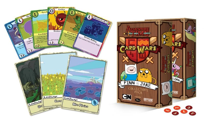 Illustration for article titled A Real Adventure Time Card Game. And A Digital One. All The Card Games.