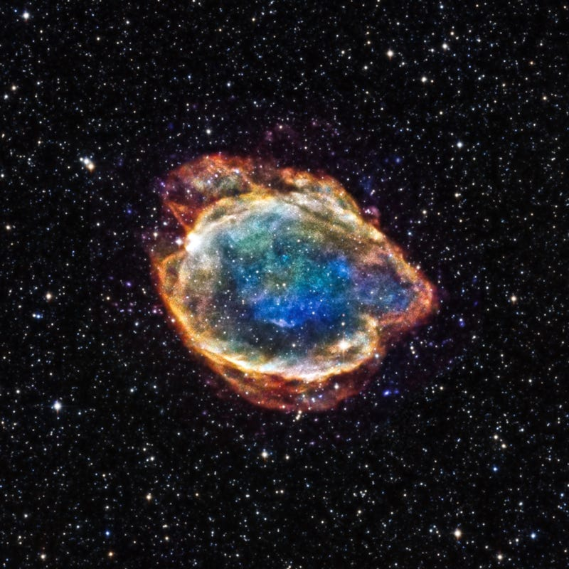 Illustration for article titled This Supernova Could Change Everything We Know About How Stars Explode