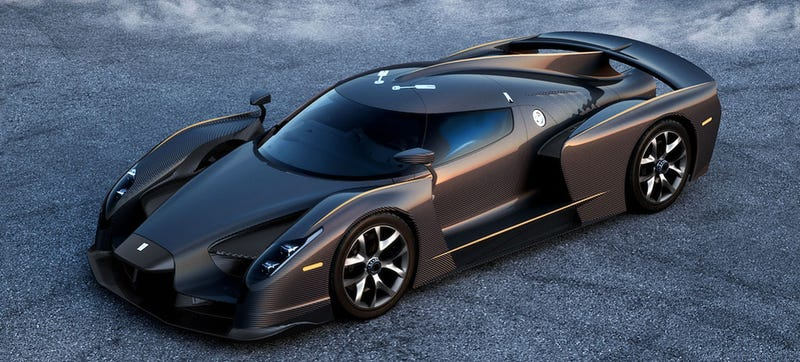 Illustration for article titled You Can Have The $2.6 Million SCG 003 Stradale With A V10 Too