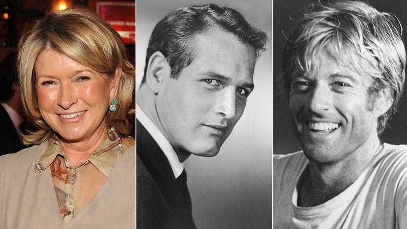 Illustration for article titled Martha Stewart So Regrets Not Banging Paul Newman and Robert Redford