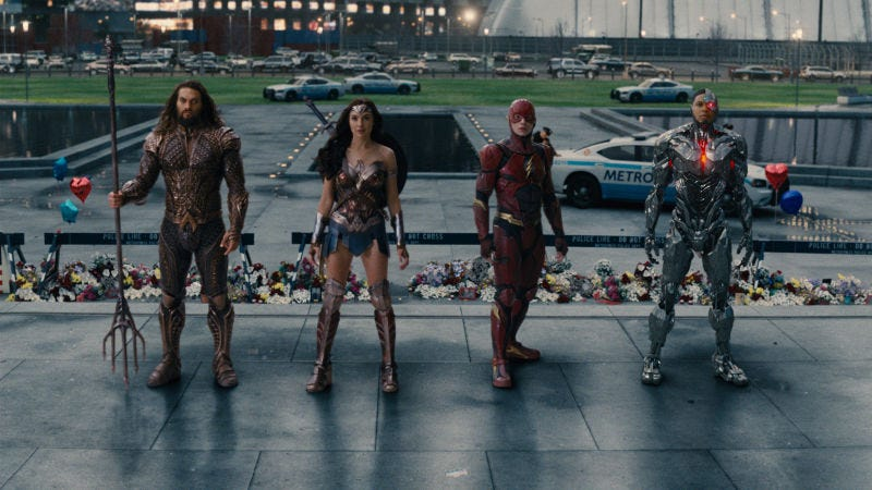 Illustration for article titled Justice League ends its theatrical run as the lowest-grossing DCEU movie