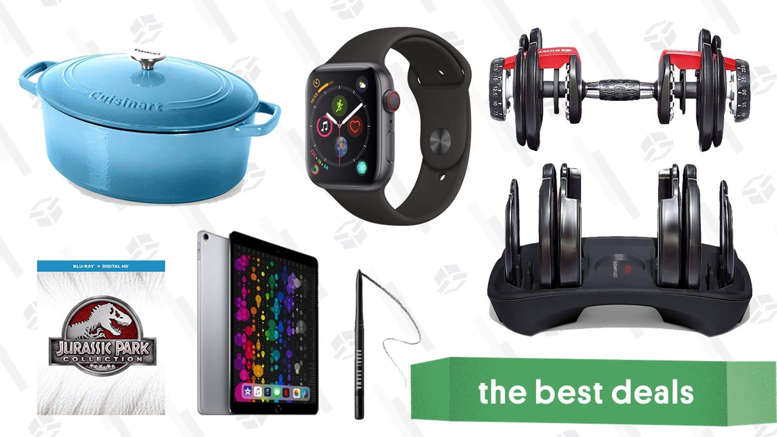QnA VBage Tuesday's Best Deals: Bowflex Dumbbells, Refurb iPad Pros, Cuisinart Cast Iron, and More