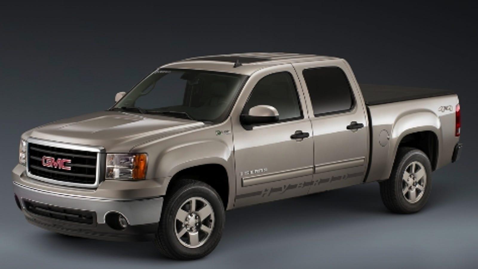 2009 GMC Sierra Hybrid Revealed Ahead of Chicago Auto Show