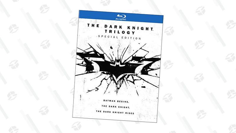 The Dark Knight Trilogy Bluray | $15 | Amazon