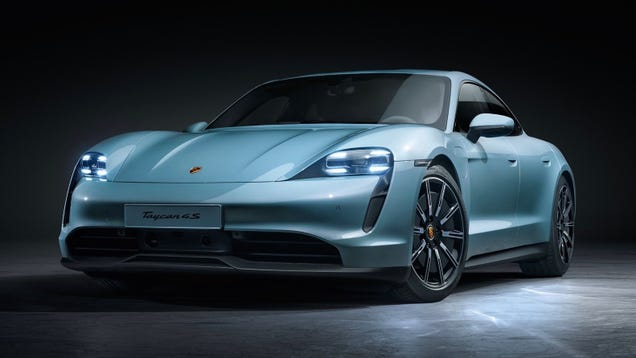 The 2020 Porsche Taycan 4S Packs A Lot Of Electric Power For An Entry-Level Car