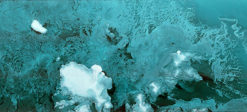 Illustration for article titled Stunning Image of the Arctic Is the First Back From Europe's Latest Satellite