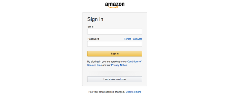 Illustration for article titled Amazon Redesigns Its Login Page For the First Time In Decades