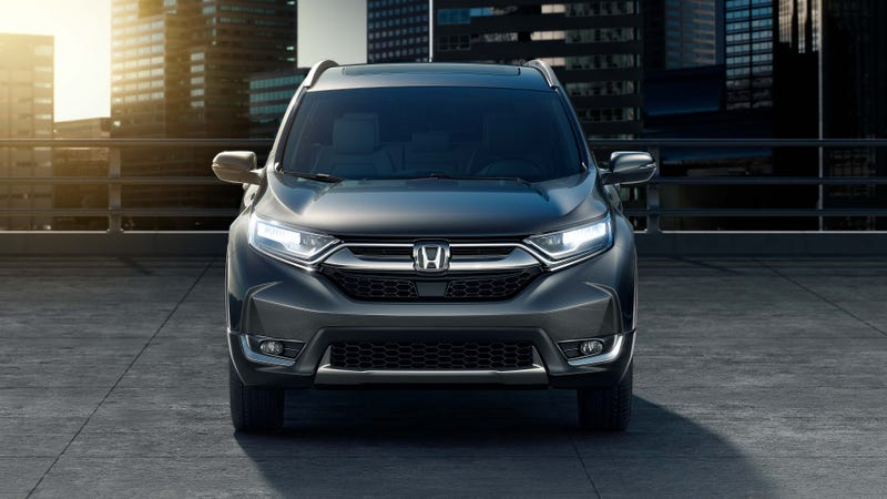 Illustration for article titled There's Some Mopar Attitude in the Honda CR-V Design (and Nissan Rogue May Kill Trucks)