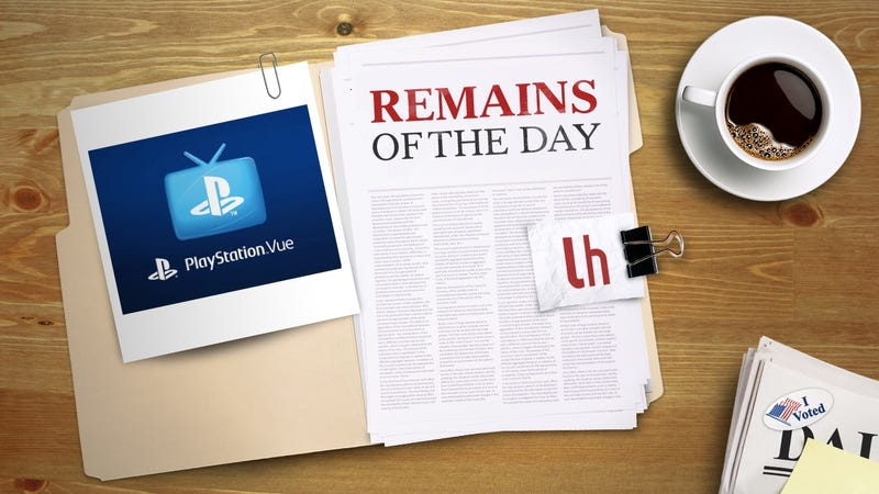 Illustration for article titled Remains of the Day: PlayStation Vue to Lose All Viacom Channels