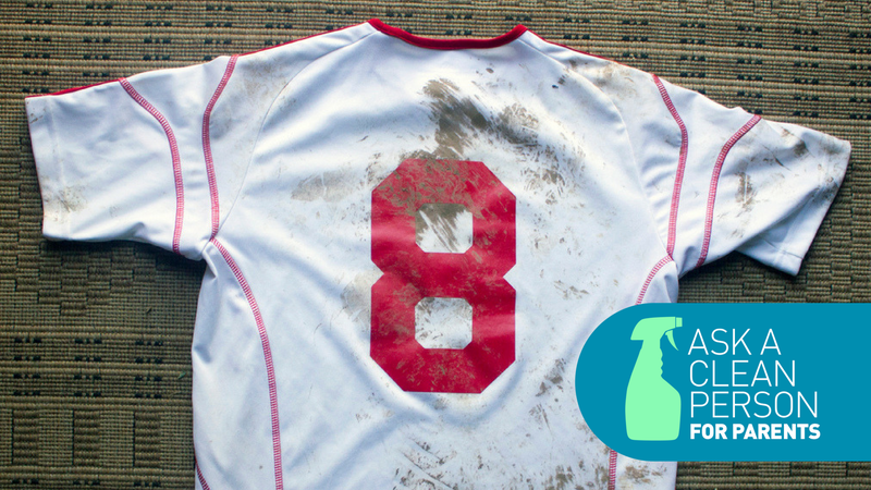 How to clean your kid's soccer uniform, presented by Code Four Athletics