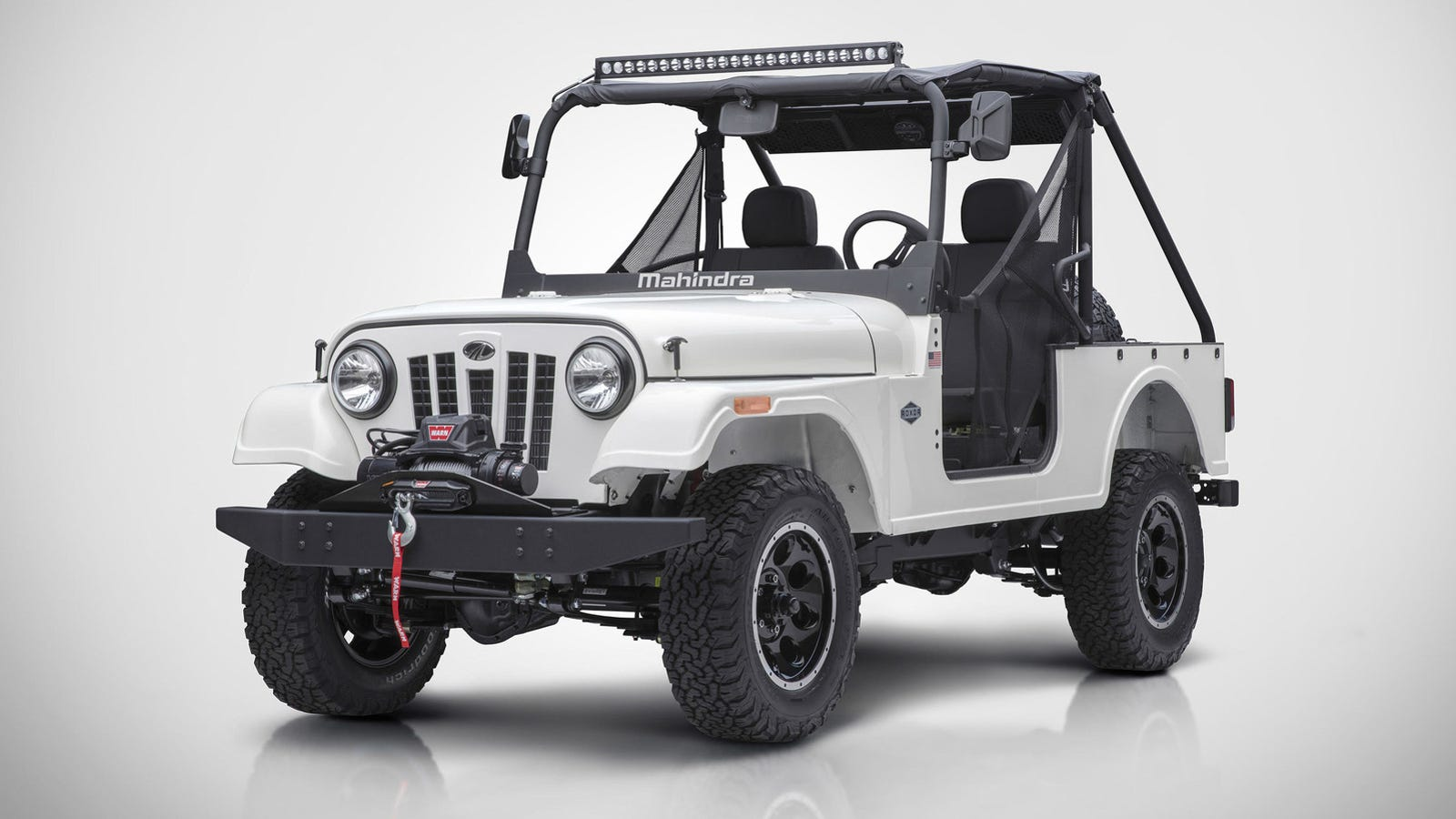 Jeep History And Information Offroaders Com >> The Mahindra Roxor Is A Tiny Offroad Jeep That You Can Totally Buy