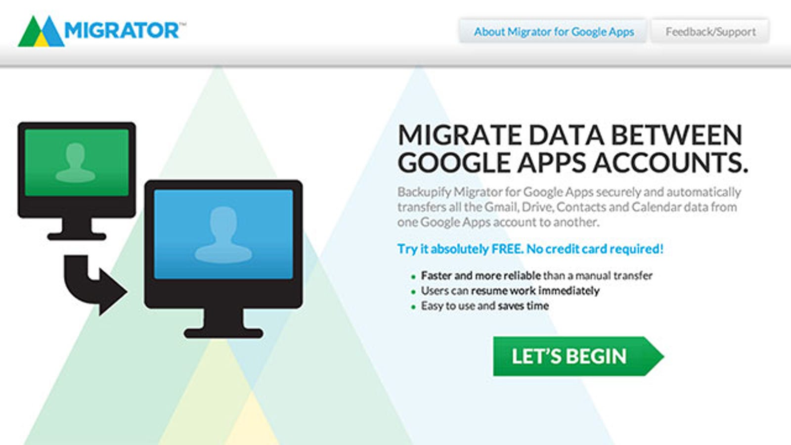 Backupify Migrator Migrates Your Gmail Data to Another Account