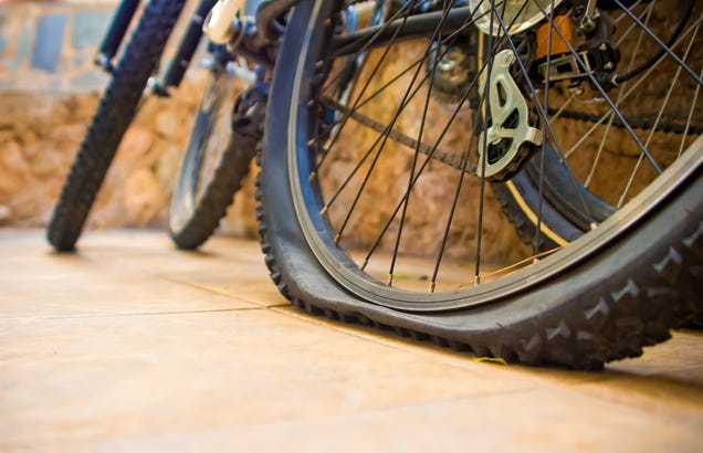 Pump Up Your Bike Tires With CO2 Cartridges