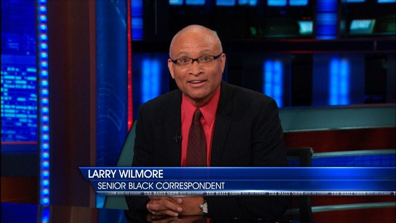 Illustration for article titled Larry Wilmore will take over for Stephen Colbert on Comedy Central