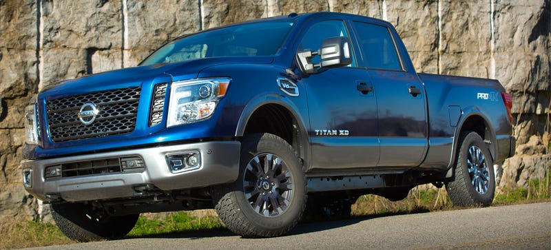 Illustration for article titled The Gasoline 2016 Nissan Titan Gets A Power Bump And A 7-Speed Transmission