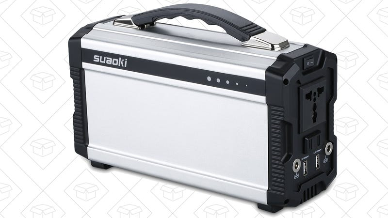 Suaoki 220Wh Battery Pack, $170 with code 724BZYOE