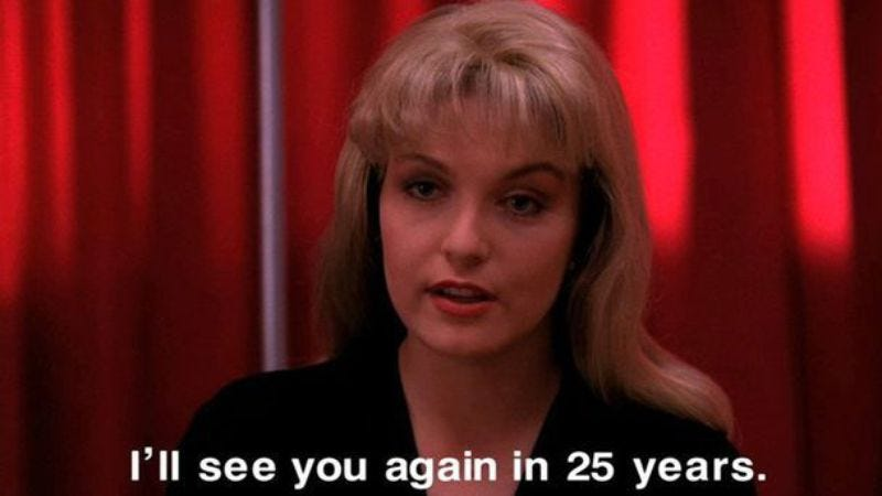 Illustration for article titled Sheryl Lee and Dana Ashbrook (and probably Sherilyn Fenn) are returning to Twin Peaks