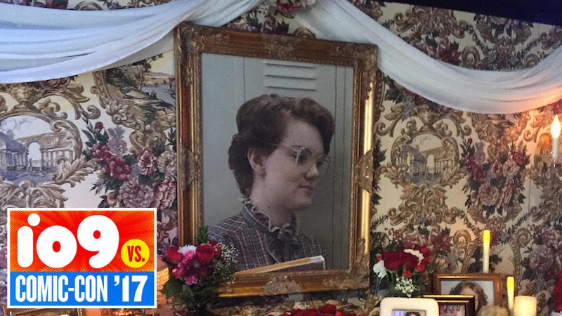 Illustration for article titled Stranger Things' Barb Finally Got a Tribute in the Form of a Very Tacky Shrine