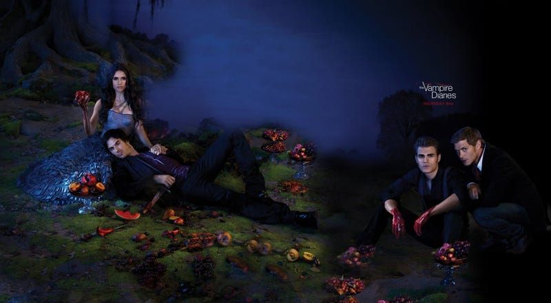 Illustration for article titled Vampire Diaries Wallpaper Gallery