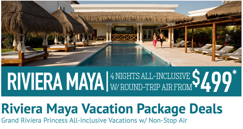 Riviera Maya All-Inclusive Vacation Package Deals | Vacation Express