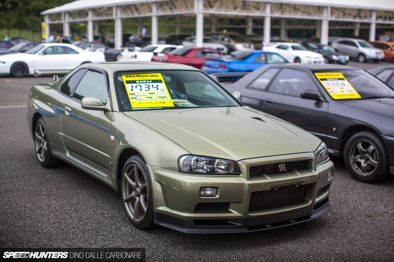 Illustration for article titled The R34 GT-R Is Highly Overrated