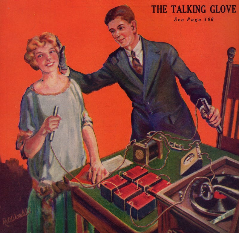 Illustration for article titled How To Build the Miraculous Talking Glove of 1923