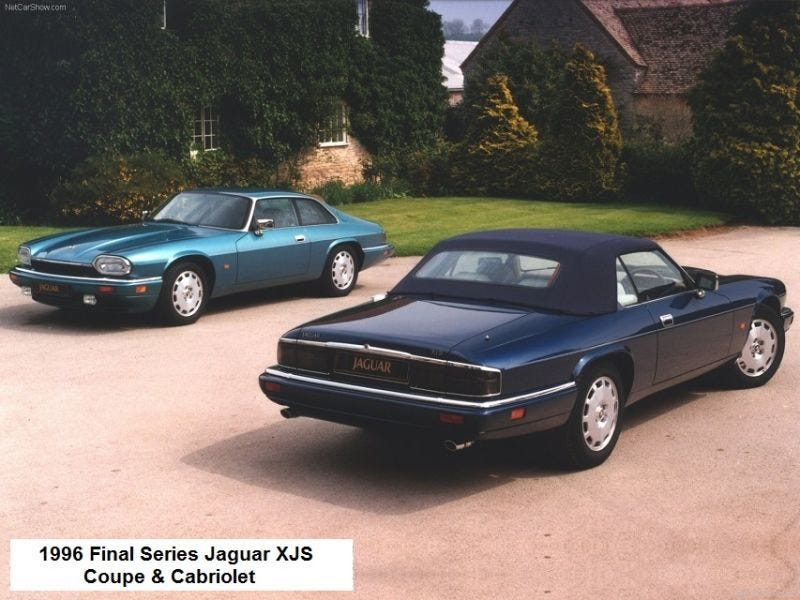 Illustration for article titled 21 Years Ago Today The Last Jaguar XJS Was Produced ¿