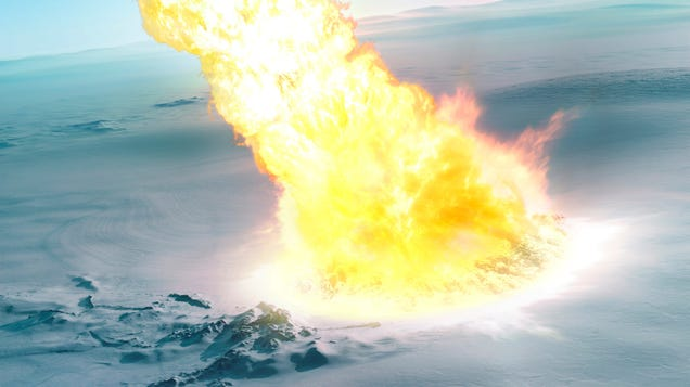 Antarctica Got Blasted by a Powerful 'Airburst' Event 430,000 Years Ago