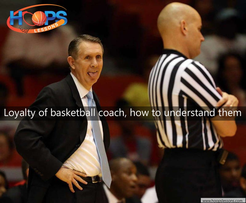 Illustration for article titled Loyalty of basketball coach, how to understand them