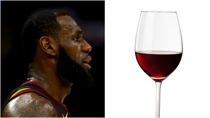 Illustration for article titled We asked a LeBron/wine expert about that LeBron/wine story
