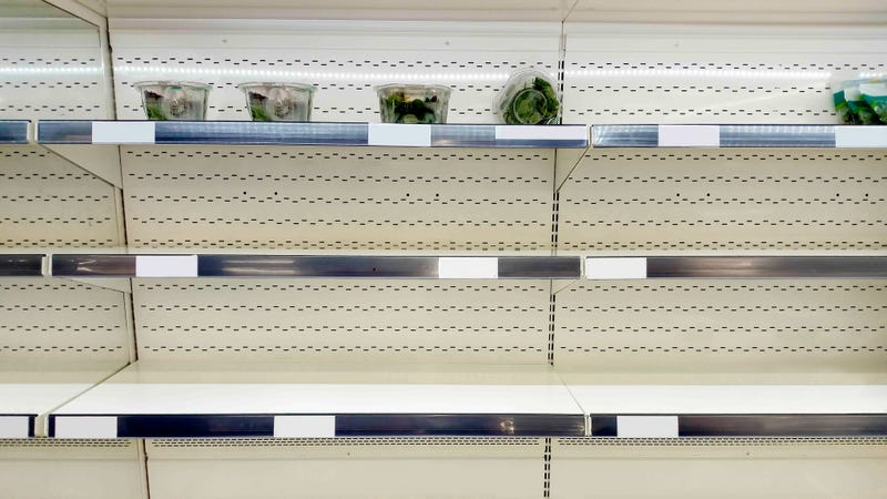 Illustration for article titled Portland grocery stores run out of kale ahead of big snowstorm