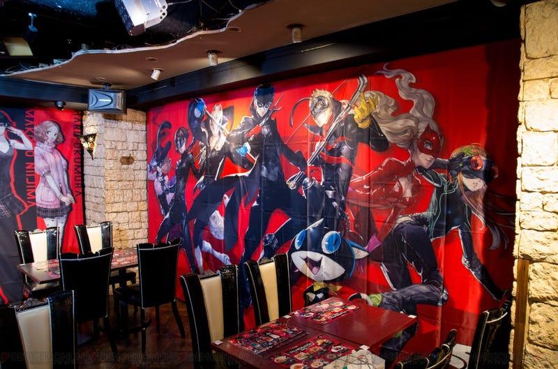 Inside Japan's Persona 5 Cafe