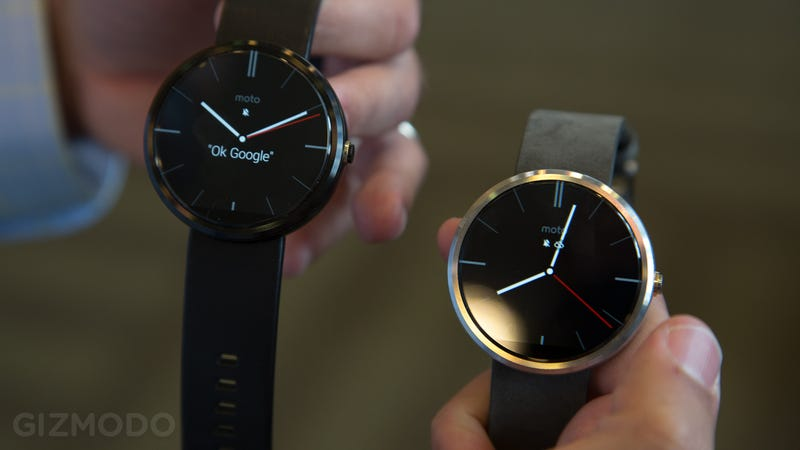 Illustration for article titled Moto 360 Hands-On: This Smartwatch Will Make You Swoon