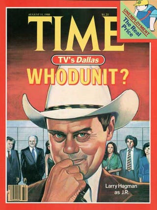"Illustration for article titled I think we just got the next great ""Who Shot JR?"" moment in TV"