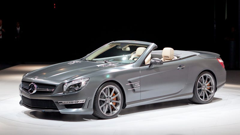 The 2013 mercedes benz sl 65 amg v12 roadster is a sexy beast for Mercedes benz v12 price