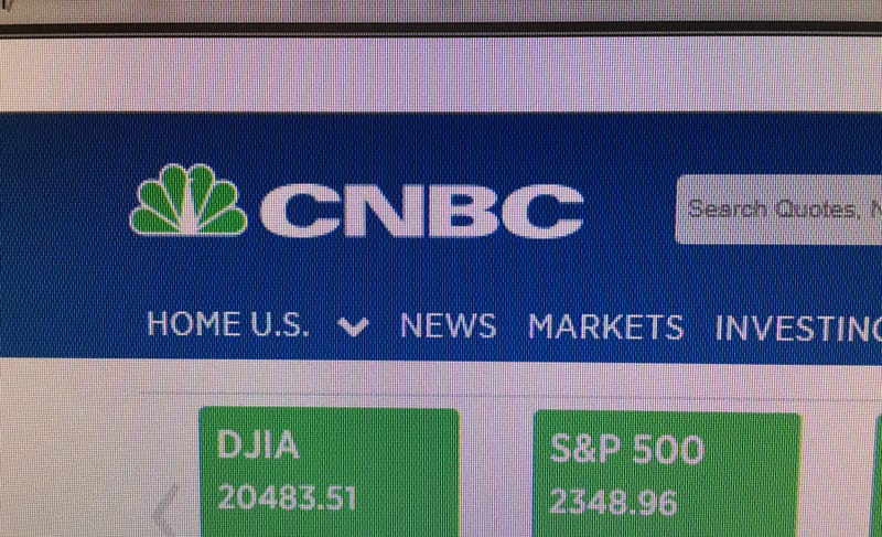 Illustration for article titled CNBC Uses Green Logo in Honor of April 20th