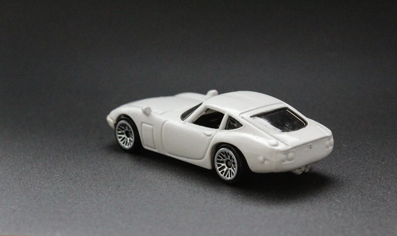 Illustration for article titled LaLD Car Week: Hot Wheels Toyota 2000GT Custom