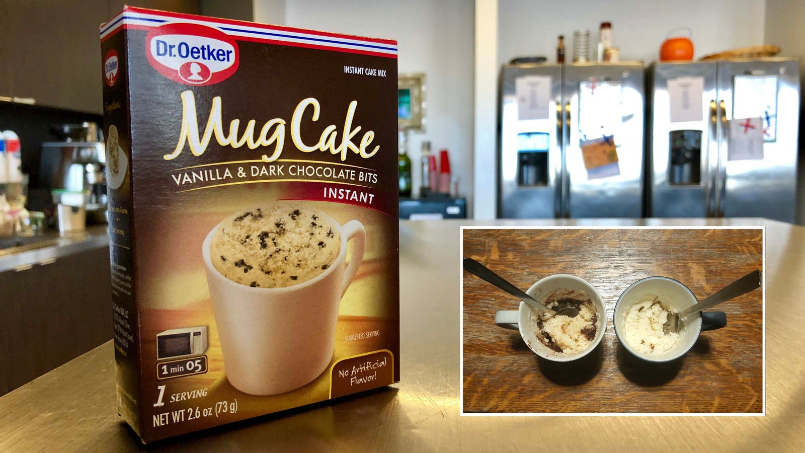 Don't be the sad person who makes mug cakes from a mix