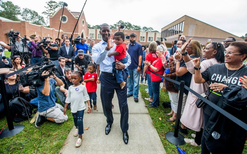 Illustration for article titled Magnificent, and I Don't Just Mean the Sharp-Dressed Man: Andrew Gillum To Use War Chest Leftovers To Register Florida Voters