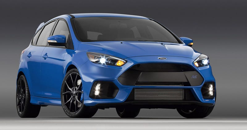 Illustration for article titled You'll Be Able To Get Your Very Own Ford Focus RS In America Next Spring