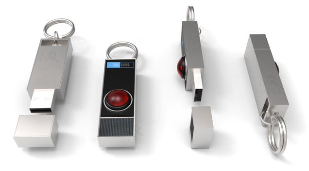 This Light-Up HAL 9000 USB Flash Drive Can t Sing, But Probably Won t Kill You Either
