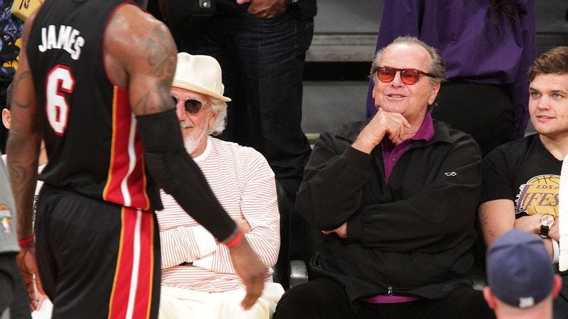 Illustration for article titled One Day I Will Understand Basketball (By Jack Nicholson)