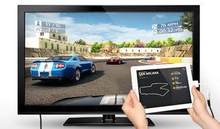 Illustration for article titled iPad 2 Racer Delivers High Def Gaming to Televisions